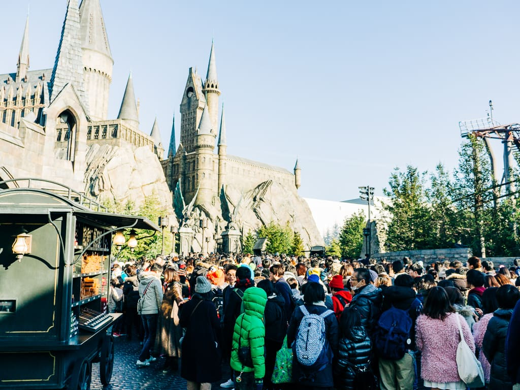 The 2 to 3 hour line to The Forbidden Journey Ride
