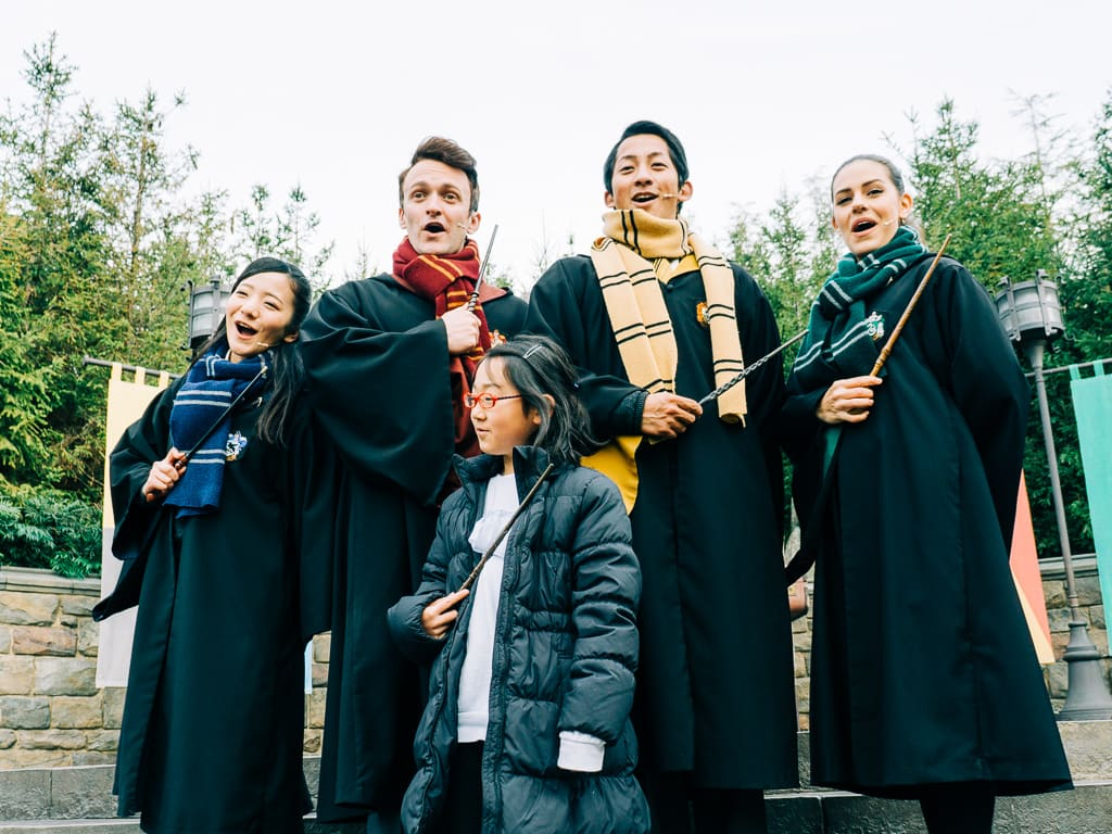 The Harry Potter performers