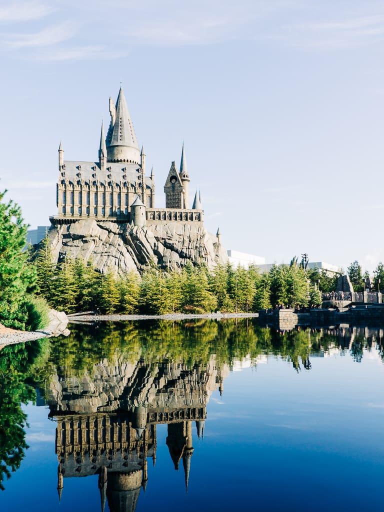 The Hogwarts Castle replica