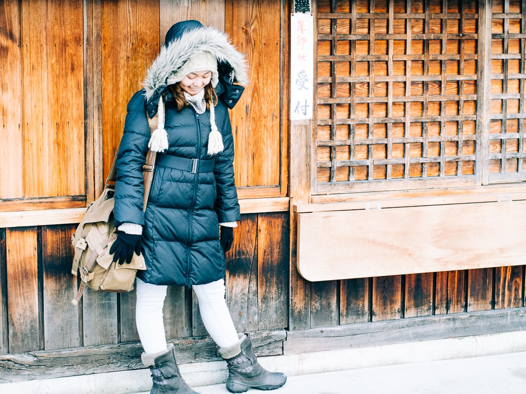 What to wear in Japan in winter -- December January, and February