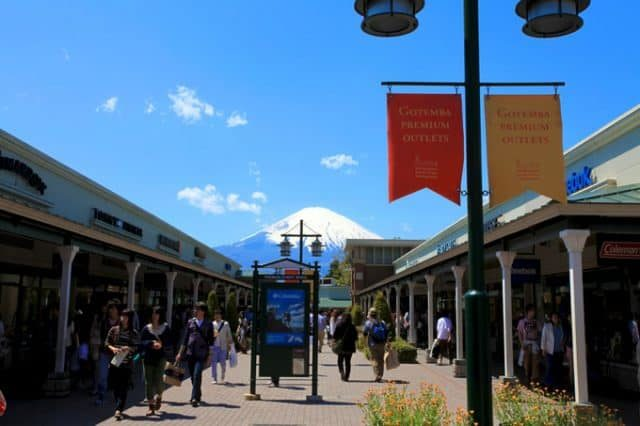 Mt. Fuji with Gotemba Premium Outlet