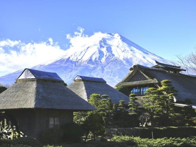 Mt. Fuji with Oshino Hakkai