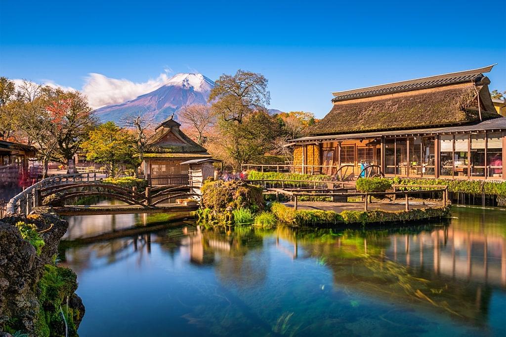 Oshino Hakkai Pond