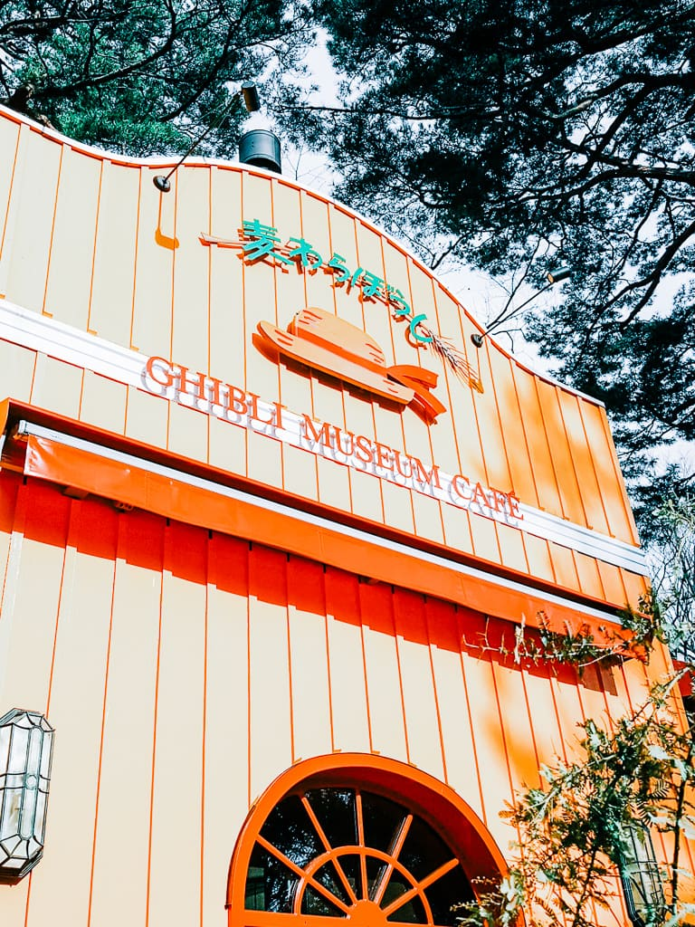 Straw Hat Cafe in Ghibli Museum