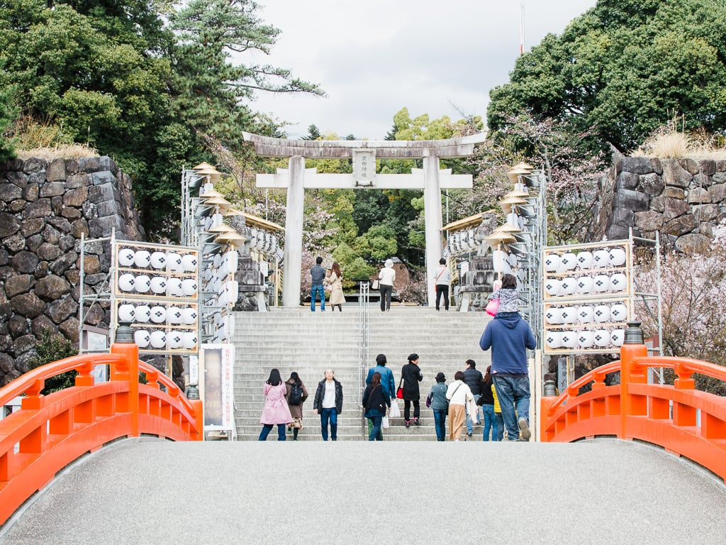 Entrance to the takeda Shrine