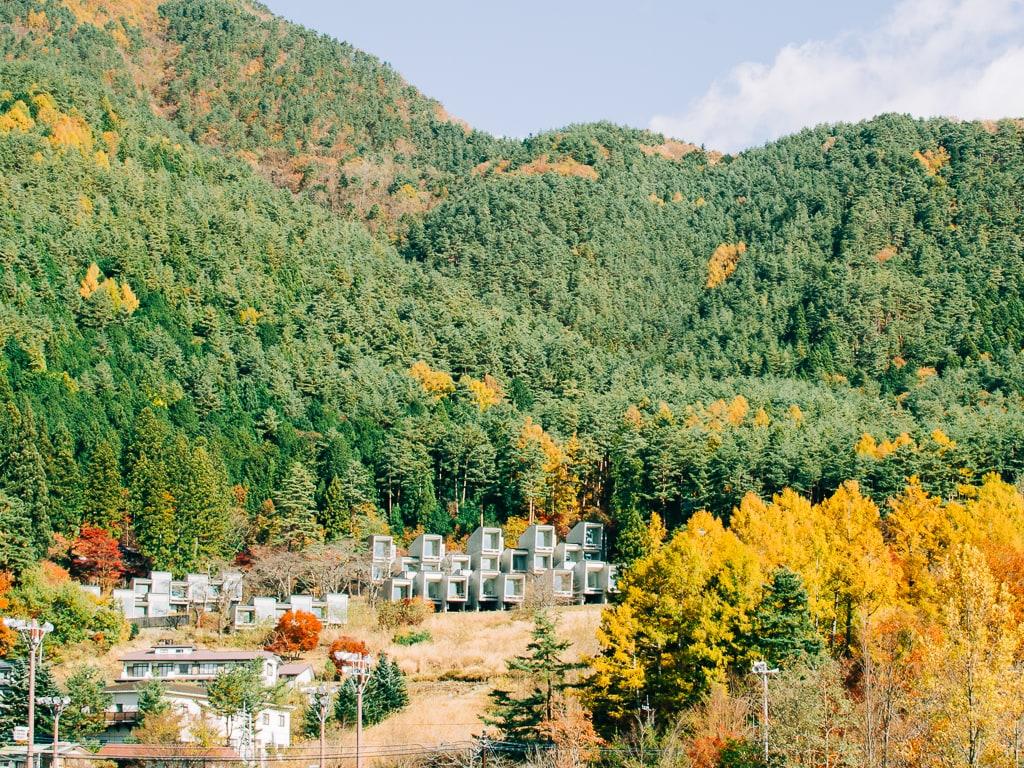 Hoshinoya Fuji Resort in Lake Kawaguchiko