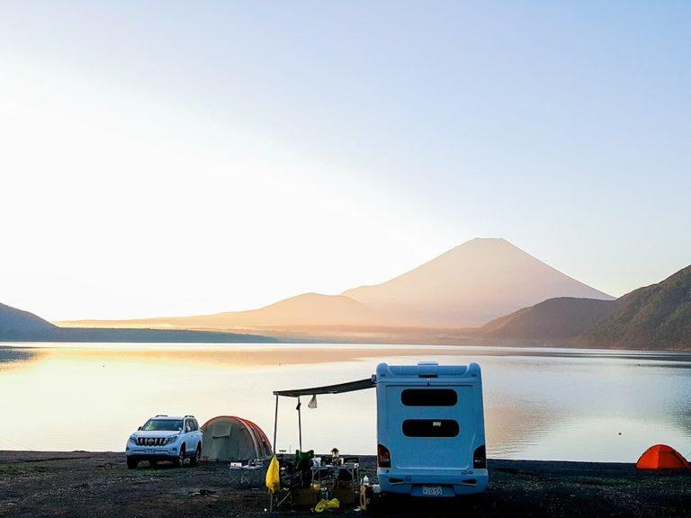 Lake Motosu Camping Experience