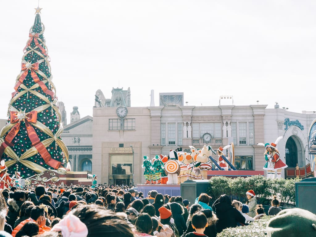 Christmas and New Year Celebration in USJ