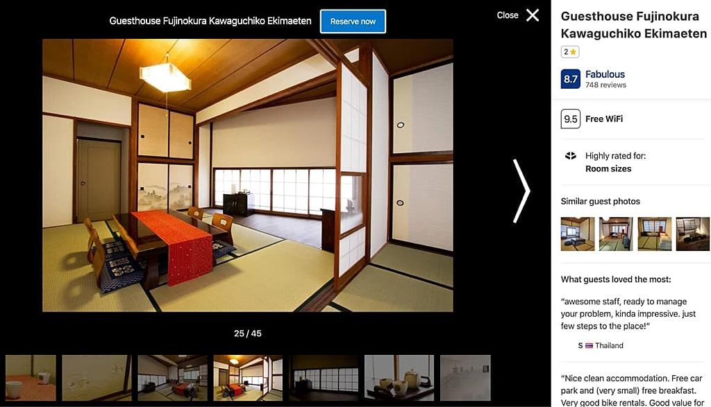 Fujinokura Guesthouse