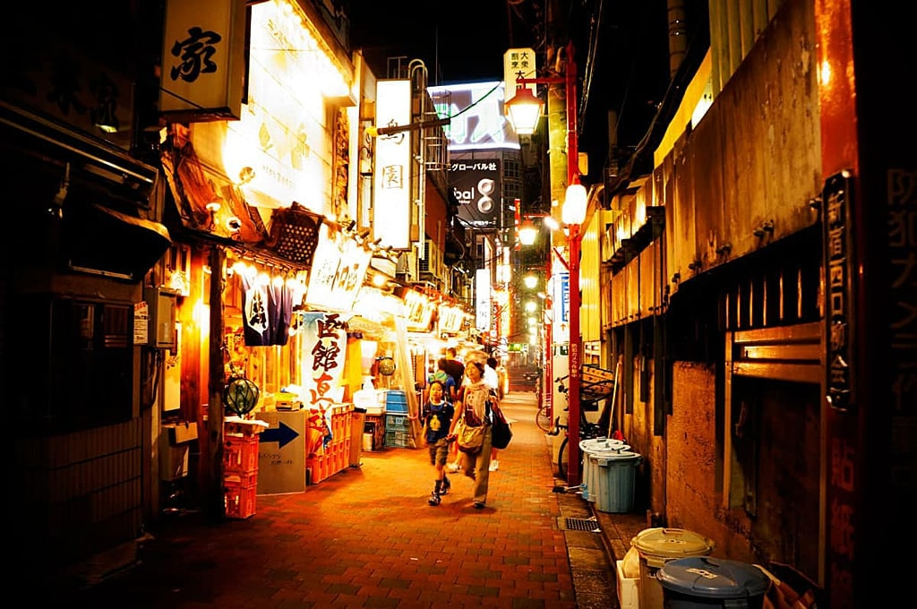 Golden Gai in Shinjuku