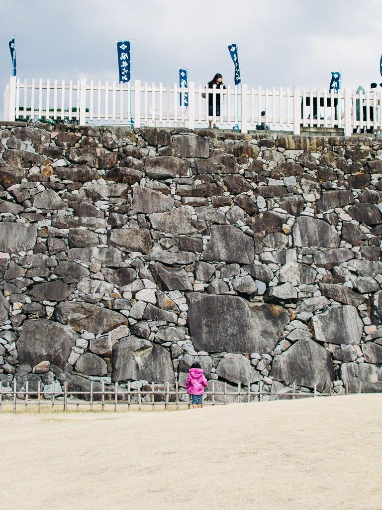 Maizuru Castle stone moat