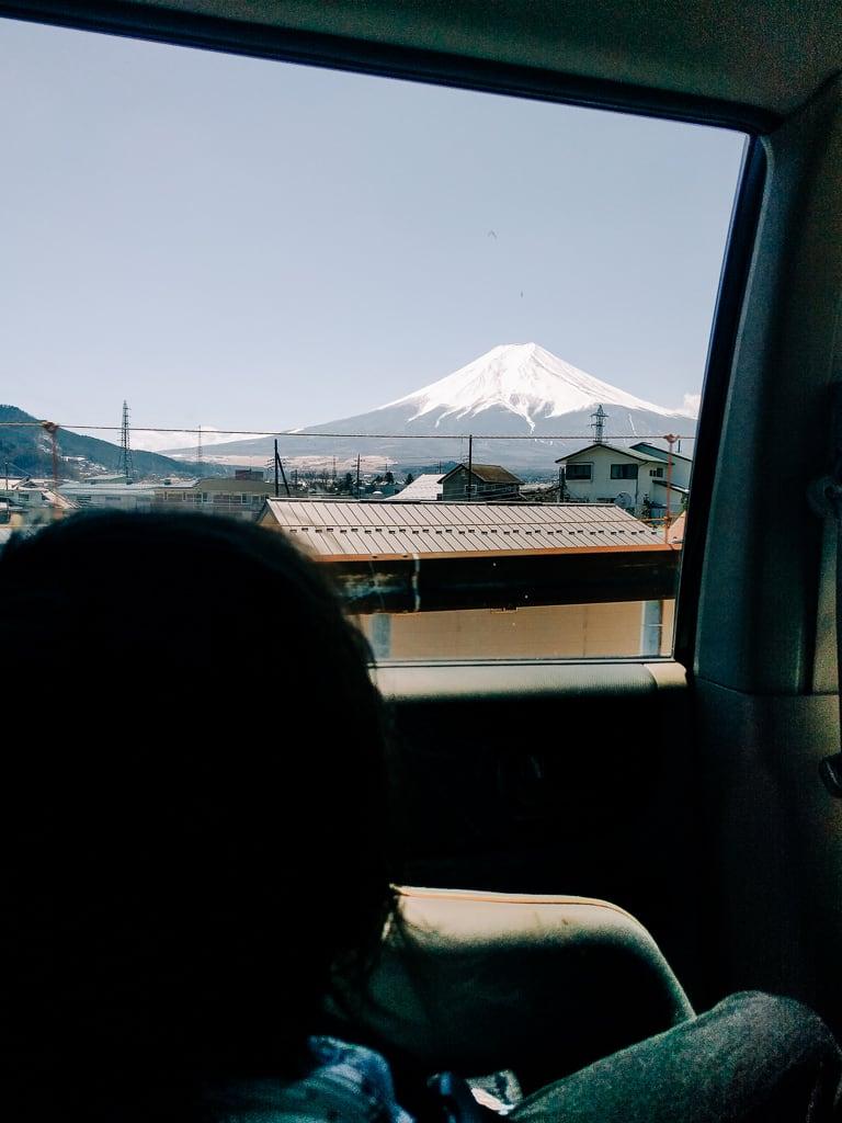 On our way to Kawaguchiko and Yamanakako