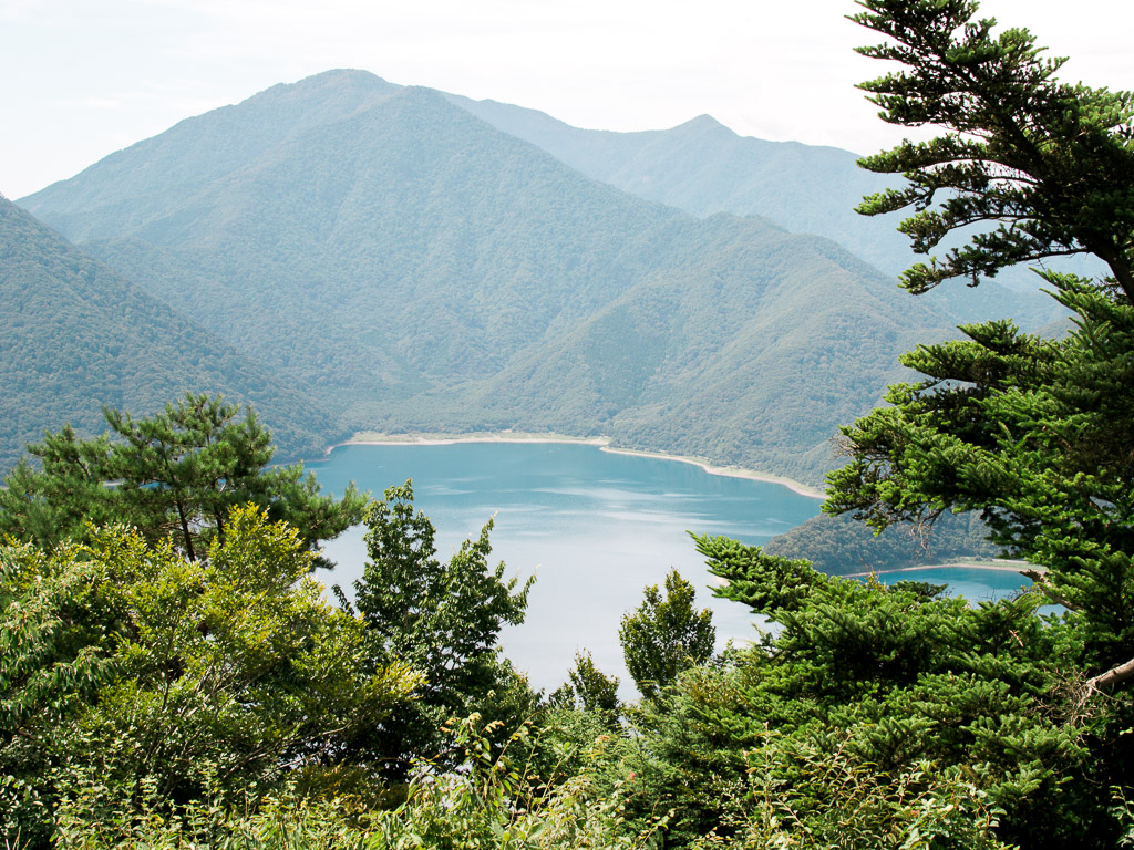Lake shoji as seen from Panorama Dai