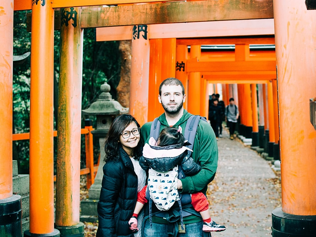 Reached the top of Fushimi Inari shrine in Kyoto with our daughter