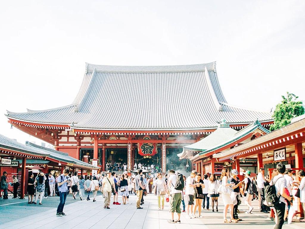 Senso-ji-Temple in Asakusa