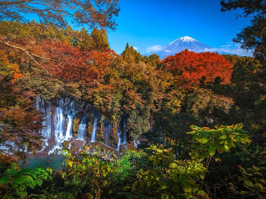 Shiraito Falls in Fujinomiya