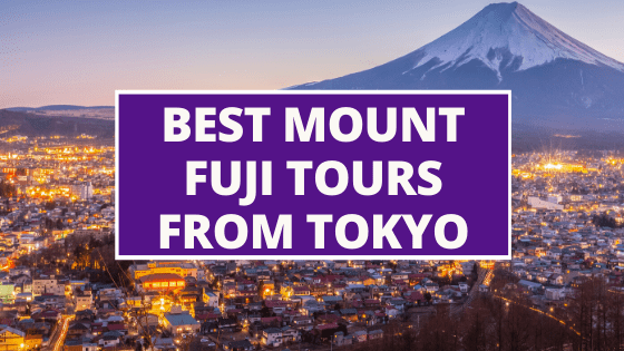 Best Mt Fuji Tours from Tokyo