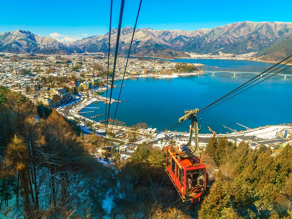 One of the most beautiful small towns in Japan - Lake Kawaguchi